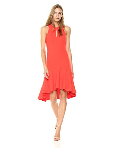 Trina Turk Women's Petal Dress, Ladybug, 6