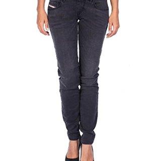 Diesel Women's Jeans Grupee-Ankle - Super Slim Skinny - Gray, W31/L34
