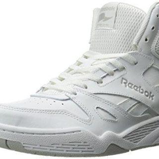 Reebok Men's Royal Hi Fashion Sneaker, White/Steel, 9.5 M US