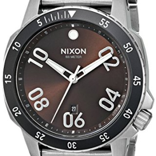 Nixon 24mm Stainless Steel Watch