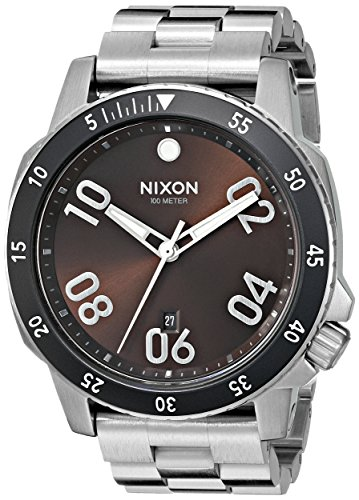 Nixon 24mm Stainless Steel Watch