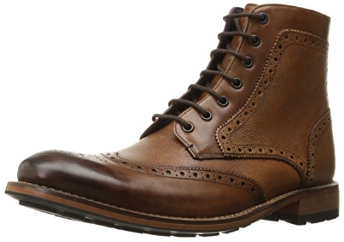 Ted Baker Men's Sealls 3 Winter Boot, Tan Leather, 9.5 M US