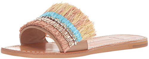 Dolce Vita Women's Cadiz Slide Sandal, Blush Multi Stella, 6 M US