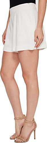 Trina Turk Women's Fairview Shorts White Wash Shorts