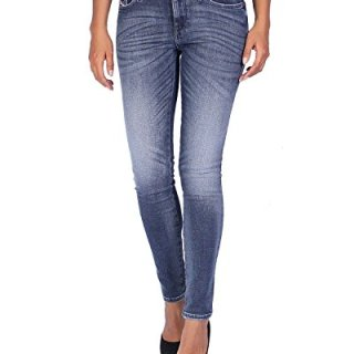 Diesel Women's Jeans Skinzee - Super Slim Skinny - Blue, W27/L30