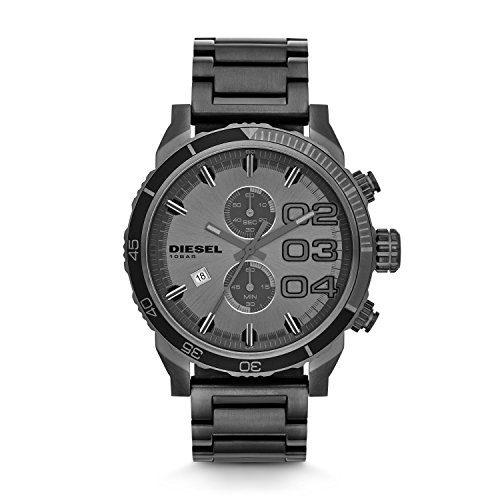 Diesel Double Down Series Analog Display,Analog Quartz Grey Men's Watch.