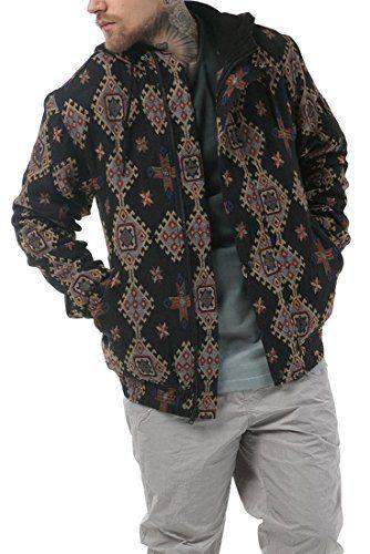 Publish Brand - Men's Majid Hooded Bomber Jacket - Black - M
