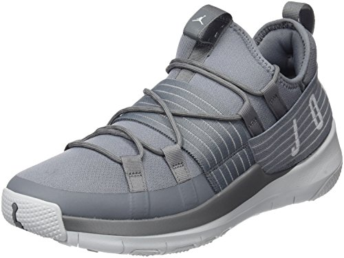 Jordan Trainer Pro Mens Training Sneakers Cool Grey/Pure Platinum New