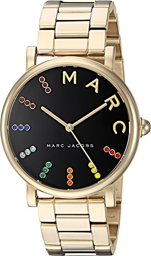 Marc Jacobs Women's 'Roxy' Quartz Stainless Steel Casual Watch, Color Gold-Toned (Model: MJ3567)