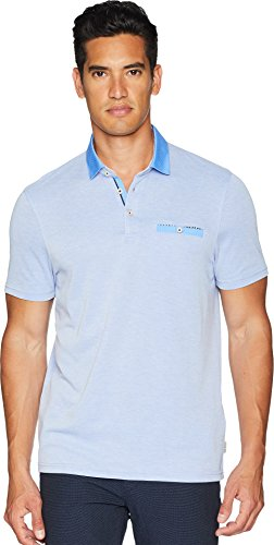 Ted Baker Men's Mikey Short Sleeve Polo Bright Blue 6