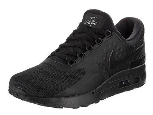 NIKE Men's Air Max Zero Essential Black/Black/Black Running Shoe 9 Men US