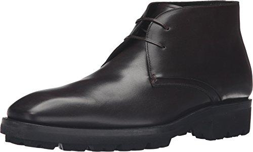 Salvatore Ferragamo Men's Gustavo Boot Hickory 43.5 (US Men's 9.5) D - Medium