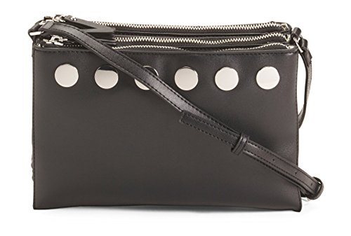 French Connection Celia Crossbody Bag (Black)