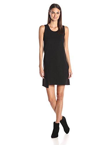 A X Armani Exchange Women's Sleeveless Slit Dress, Black, Small