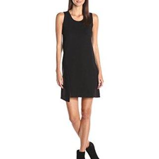 A|X Armani Exchange Women's Sleeveless Slit Dress, Black, Small
