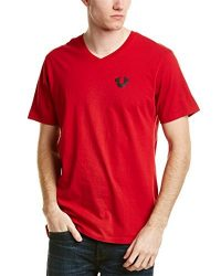 True Religion Mens T-Shirt, L, Red