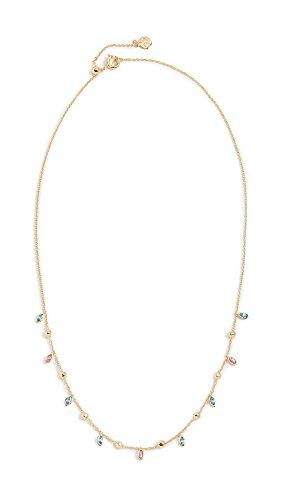Gorjana Women's Rumi Confetti Necklace, Aqua/Fuchsia, One Size
