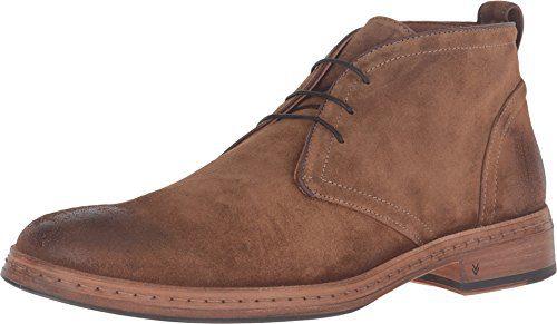 John Varvatos Men's Julian Chukka Brownstone Boot