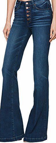 PAIGE Women's Jean Genevieve Salida Wide Leg FIT Jeans(26)