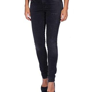 Diesel Women's Jeans Skinzee - Super Slim Skinny - Black, W29/L32