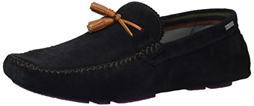 Ted Baker Men's Urbonn Loafer, Dark Blue Suede, 11 D(M) US