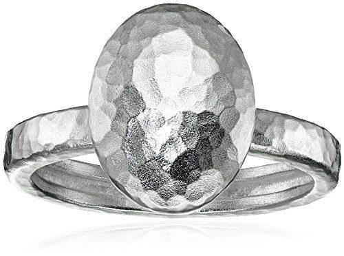 Gurhan Jordan Sterling Silver Large Stackable Ring, Size 6.5