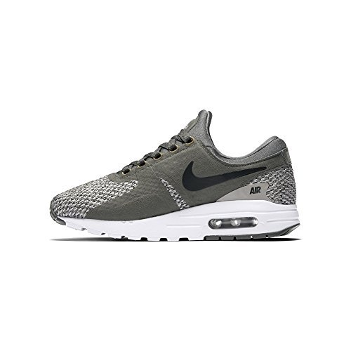 Nike Air Max Zero Essential GS Youth Running Shoes (6 Big Kid M, River Rock/Black-CobbleStone)