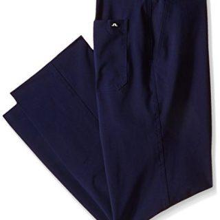 J.Lindeberg Men's M Troon Micro Stretch Golf Pant, Navy Purple, 38x32