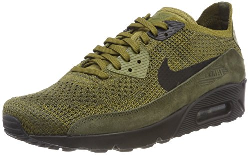 196b8e437a4b6 NIKE Men's Air Max 90 Ultra 2.0 Flyknit Olive (Size: 11) Clout Wear ...