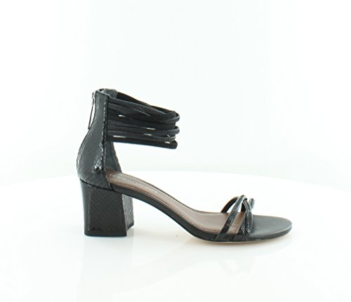 Donald J Pliner Essie Women's Sandals & Flip Flops Black/Black Size 6.5 M