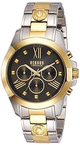 Versus by Versace Men's Chrono Lion Analog Display Quartz Two Tone Watch