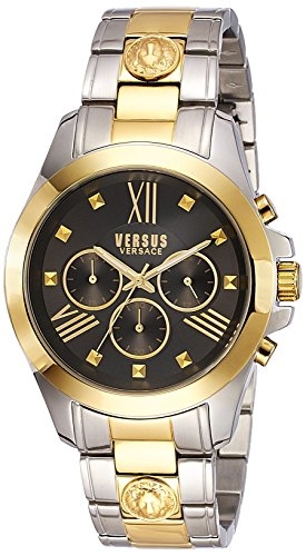 Versus by Versace Men's Chrono Lion Analog Display Quartz Two Tone Watch
