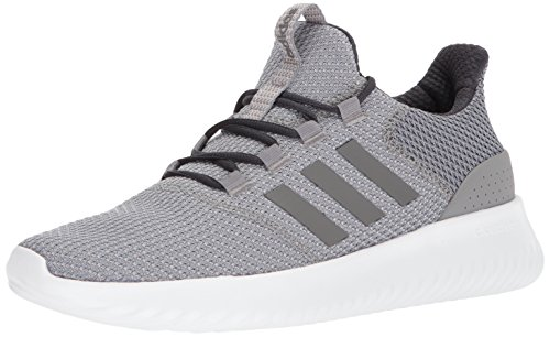 adidas Men's Cloudfoam Ultimate Sneaker, Grey Three Fabric, Grey Four Fabric, Carbon, 8 M US