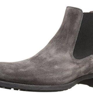 Magnanni Men's Karo Chelsea Boot, Grey, 7.5 M US