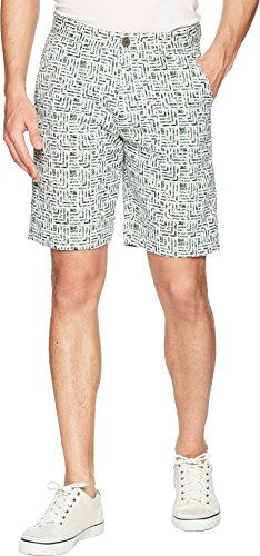 Robert Graham Men's Cristobal Woven Short, Multi, 36