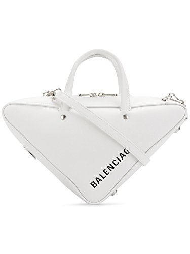 Balenciaga Women's White Leather Handbag