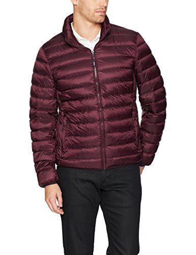 Tumi Men's Packable Down Jacket, Merlot, XX-Large