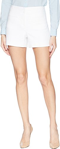Trina Turk Women's Palm Desert Shorts White 0