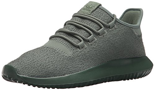 adidas Originals Men's Tubular Shadow Sneaker, Trace Green/Trace Green/Tactile Yellow, 8 Medium US