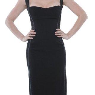 Roberto Cavalli - Fitted Dress Black, 40, Black