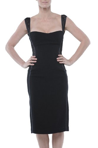 Roberto Cavalli - Fitted Dress Black, 40, Black