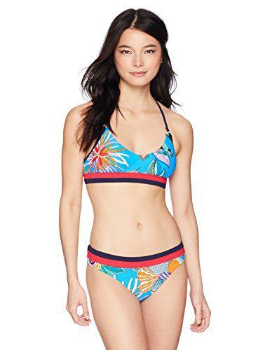 ba30ccf8a8480 Home   Shop   Women   Clothing   Tops   Tees   Trina Turk Women s Banded Bralette  Bikini Swimsuit Top