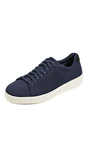 Vince Men's Silos Knit Low Top Sneakers, Coastal, 10 D(M) US