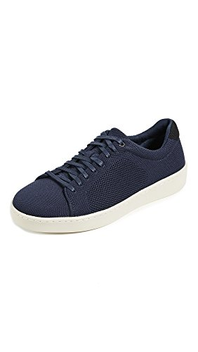 Vince Men's Silos Knit Low Top Sneakers, Coastal, 10 D(M) US