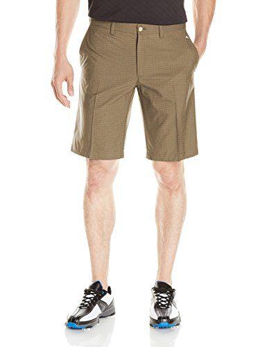 J.Lindeberg Men's Somle Light Poly Shorts, Lt Brown, 32