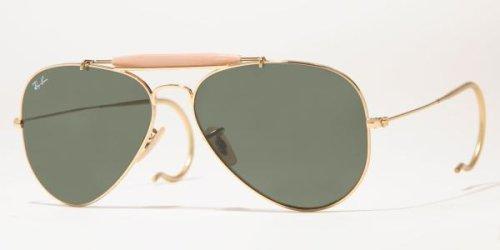 Ray Ban Sunglasses Outdoorsman Arista/G-15XLT, 58mm