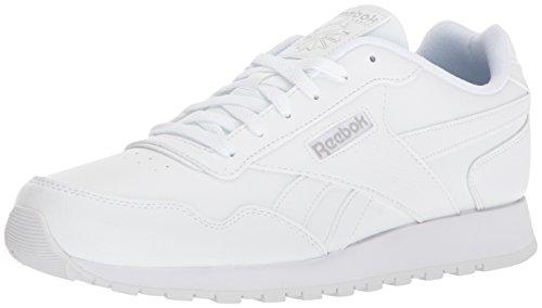 Reebok Classic Harman Run Sneaker, us-White/Steel, 10.5 M US