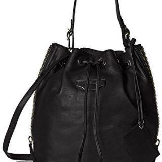 Balenciaga Women's Leather Cross-Body, Black