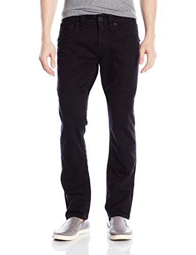 Rock Revival Men's Alternative Straight Fit Jean, Black, 31
