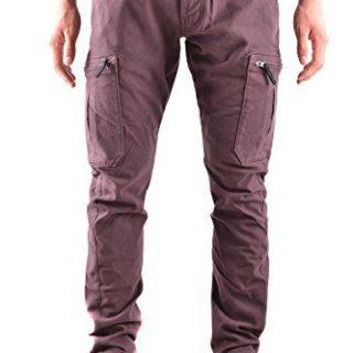 Stone Island Men's Purple Cotton Pants